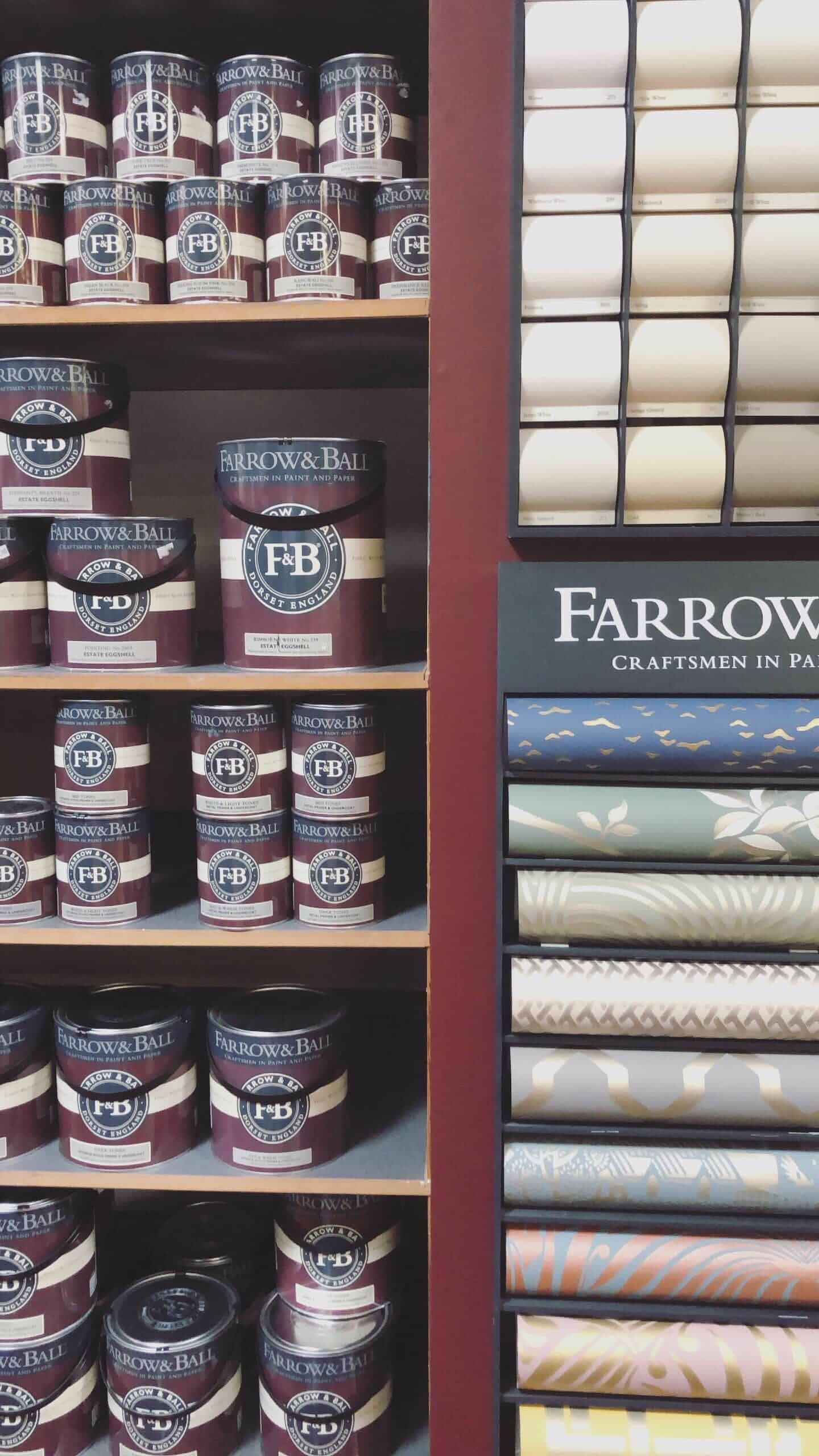 Finitions Farrow & Ball